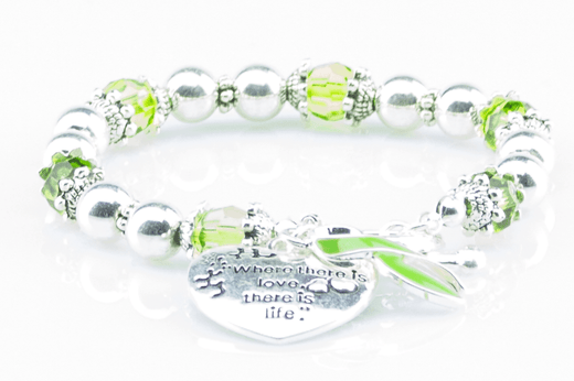 Cerebral Palsy 'Where There is Love..' Awareness Bracelet