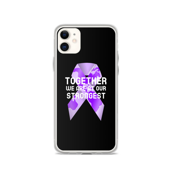 Alzheimer's Awareness Together We Are at Our Strongest iPhone Case