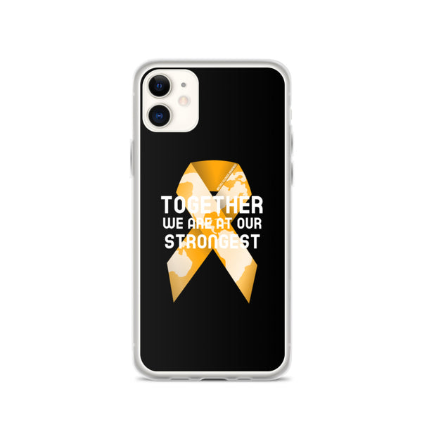 Multiple Sclerosis Awareness Together We Are at Our Strongest iPhone Case