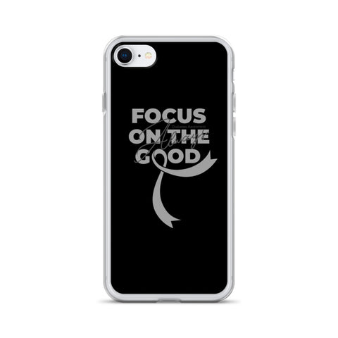 Diabetes Awareness Always Focus on the Good iPhone Case