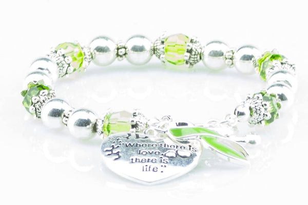 Jewelry - Lymphoma 'Where There Is Love..' Awareness Bracelet