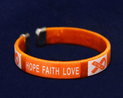 Jewelry - Skin Cancer Hope Faith Love Bangle Bracelet