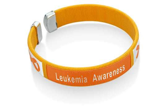 Leukemia Awareness Bangle Bracelet