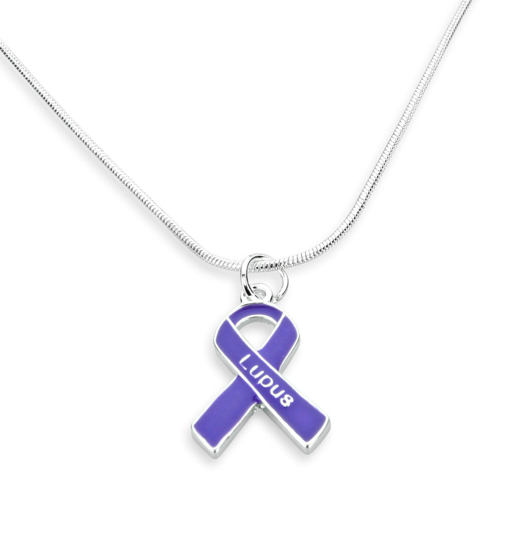 Lupus Ribbon Necklace
