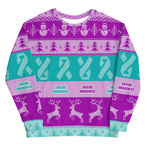 Suicide Awareness Christmas Jumper Sweatshirt