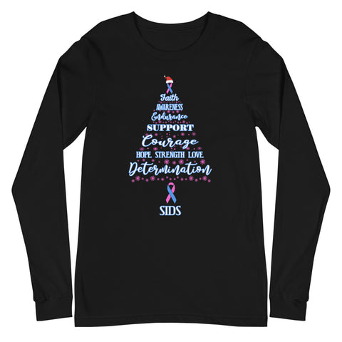 SIDS Awareness Christmas Hope Long Sleeve T-Shirt
