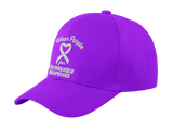 I Wear Purple For Fibromyalgia Awareness... Twill Cap