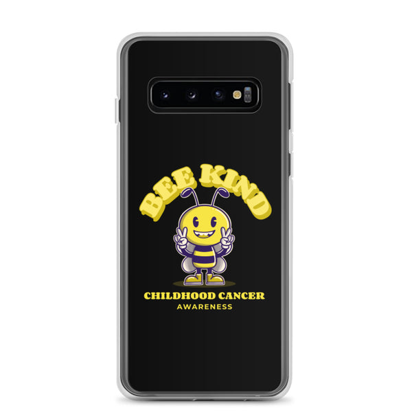 Childhood Cancer Awareness Bee Kind Samsung Phone Case