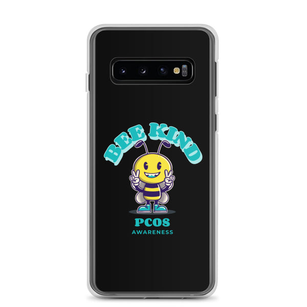 PCOS Awareness Bee Kind Samsung Phone Case