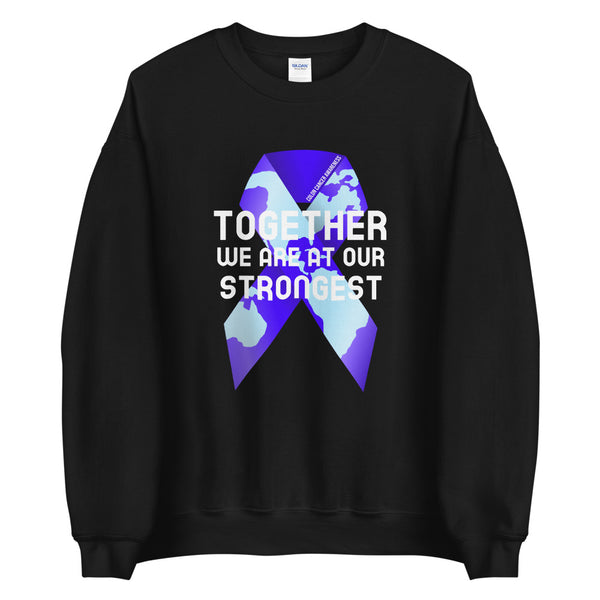 Colon Cancer Awareness Together We Are at Our Strongest Sweater