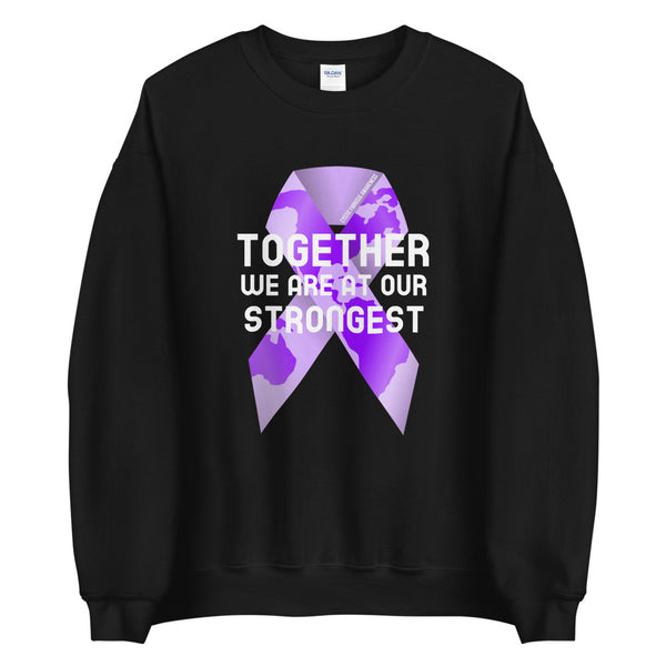 Cystic Fibrosis Awareness Together We Are at Our Strongest Sweater