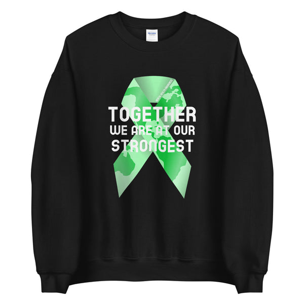 Mental Health Awareness Together We Are at Our Strongest Sweater