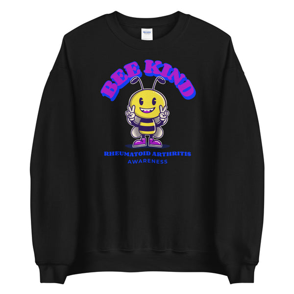 Rheumatoid Arthritis Awareness Bee Kind Sweater