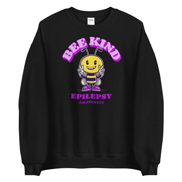 Epilepsy Awareness Bee Kind Sweater