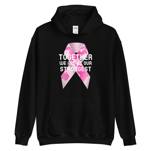 Breast Cancer Awareness Together We Are at Our Strongest Hoodie