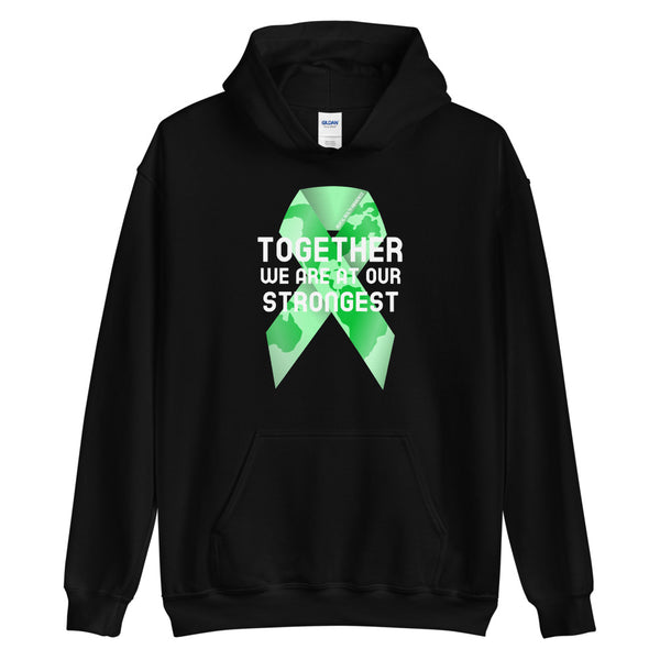 Mental Health Awareness Together We Are at Our Strongest Hoodie