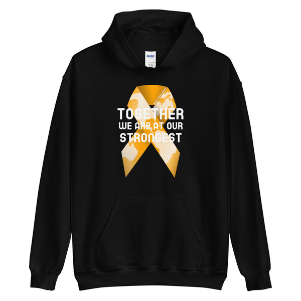 Multiple Sclerosis Awareness Together We Are at Our Strongest Hoodie