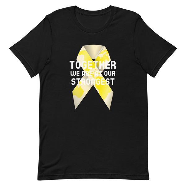 Childhood Cancer Awareness Together We Are at Our Strongest T-Shirt
