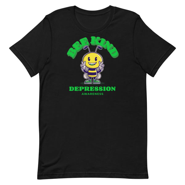 Depression Awareness Bee Kind T-Shirt