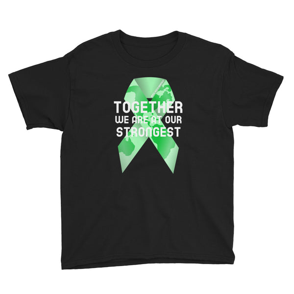 Mental Health Awareness Together We Are at Our Strongest Kids T-Shirt