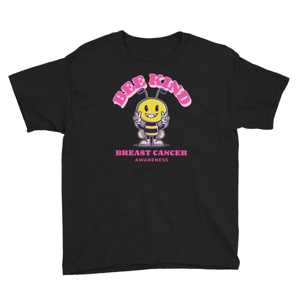 Breast Cancer Awareness Bee Kind Kids T-Shirt