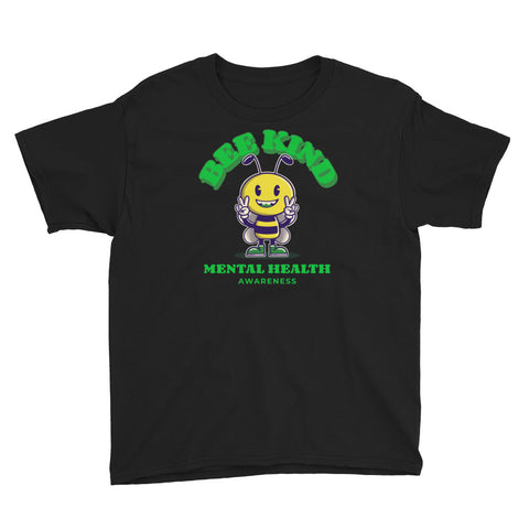 Mental Health Awareness Bee Kind Kids T-Shirt
