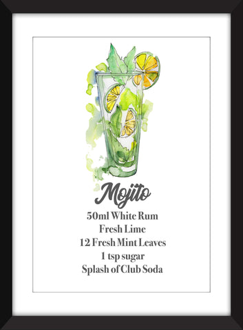 The Perfect Mojito - Unframed Print