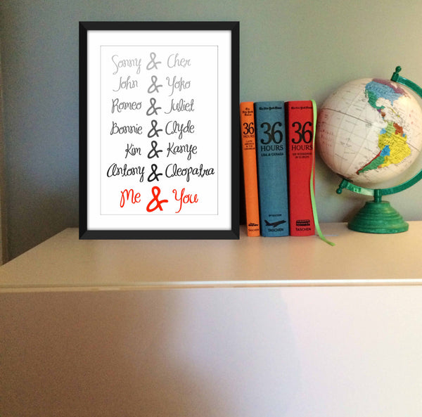 Great Love Affairs - Unframed Print