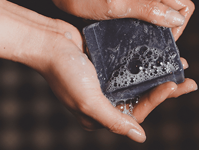 BINU Bamboo Charcoal Facial Soap