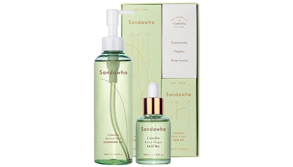 Sandawha Camellia Cleansing & Face Oil Duo