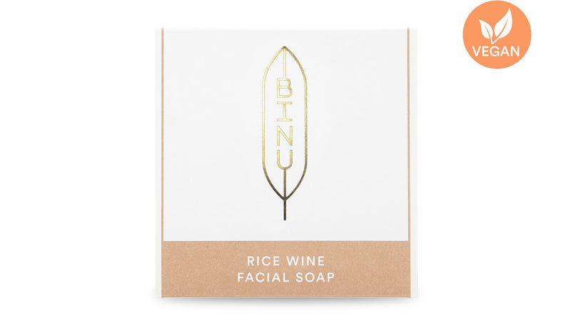 Rice Wine Facial Soap