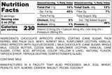 Nutrition Information for 1 pound of Chocolate Apricots