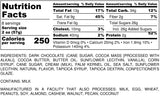 Nutrition Information for 1 pound of Dark Chocolate Sea Salt Caramels