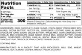 Nutrition Information for 1 pound of Barista Blend Chocolate Covered Coffee Beans