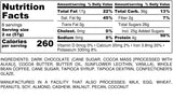 Nutrition Information for 1 pound of Chocolate Covered Espresso Beans