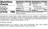 Nutrition Information for 1 pound of Gummi Bears
