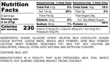 Nutrition Information for 1 pound of Chocolate Gummi Bears