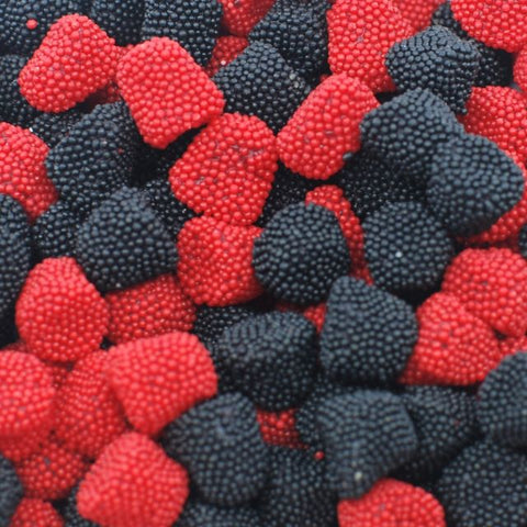 Fruit Jells - Raspberries & Blackberries