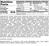 Nutrition Information for 1 pound of 49 Flavor Jelly Bellys