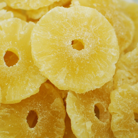 Pineapple - Rings - Low Sugar - No Sulfur - Napa Nuts