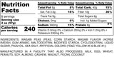 Nutrition Information for 1 pound of Wasabi Peas