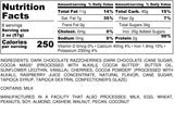 Nutrition Information for 1 pound of Chocolate Razzcherries