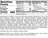 Nutrition Information for 1 pound of Napa Energy Trail Mix