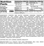 Nutrition Information for 1 pound of Resort Blend Trail Mix