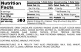 Nutrition Information for 1 pound of Valley Blend Trail Mix