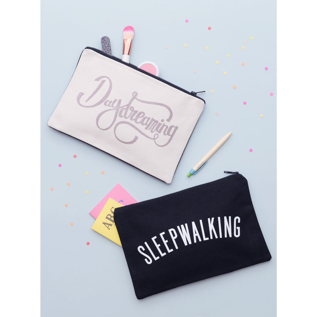 Daydreaming / Sleepwalking Large Canvas Pouch