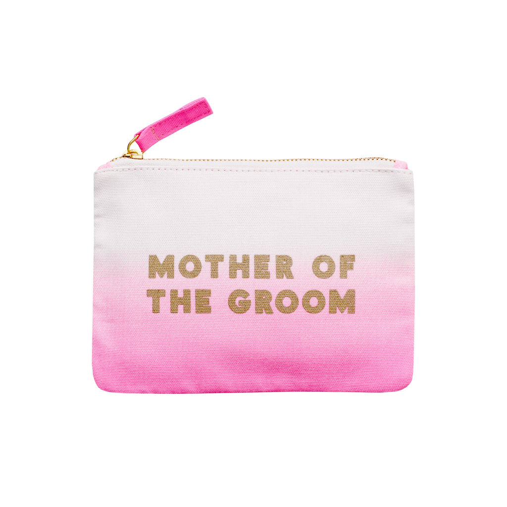 Ombre Wedding Pouch Pink