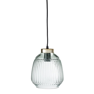 Green Glass Pendant Lamp