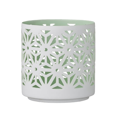 Mint Cut Out Votive