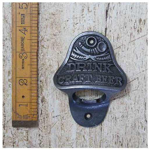Wall Mounted Bottle Opener Cast Iron